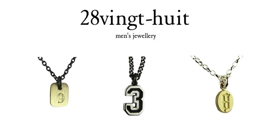 ヴァンユイット 28vingt-huit mens Jewelry メンズ ジュエリー ギフト