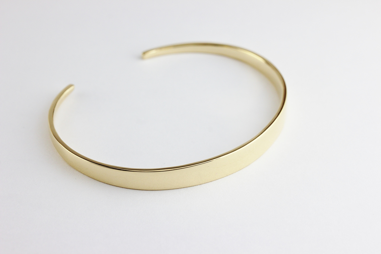 レデッサンドゥデュー 955 グロッシー ゴールド グラデーション バングル 18金,les desseins de DIEU Glossy Gold Gradation Bangle K18