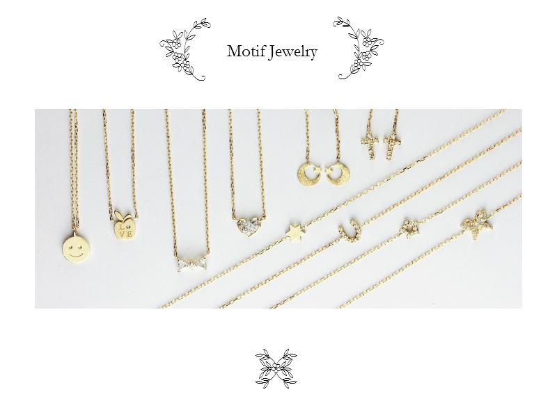 les desseins de DIEU Motif Jewelry レデッサンドゥデュー モチーフ ジュエリー