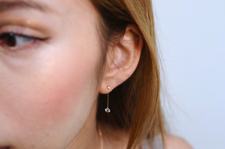 ピナコテーカ 690 バックキャッチ キュービックジルコニア アメリカン ピアスキャッチ 4ミリ 18金,pinacoteca Earrings Catch K18