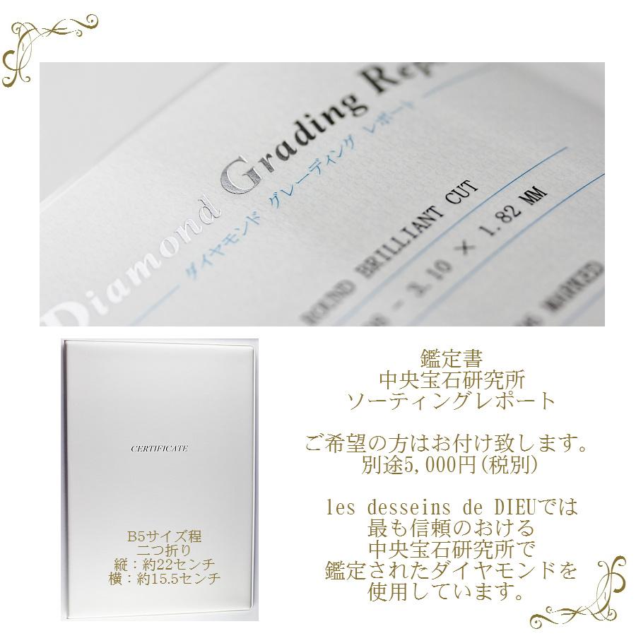 レデッサンドゥデュー ソーティング ダイヤモンド 鑑定書