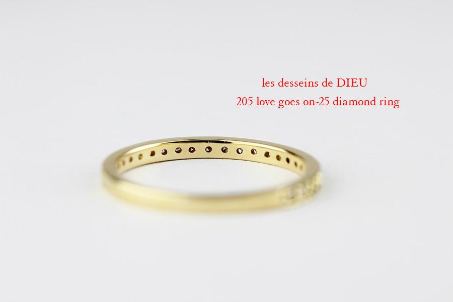 lレデッサンドゥデュー 205 ハーフ エタニティ ダイヤモンド リング 18金,les desseins de dieu Love Goes On 25 Half Eternity Diamond Ring K18