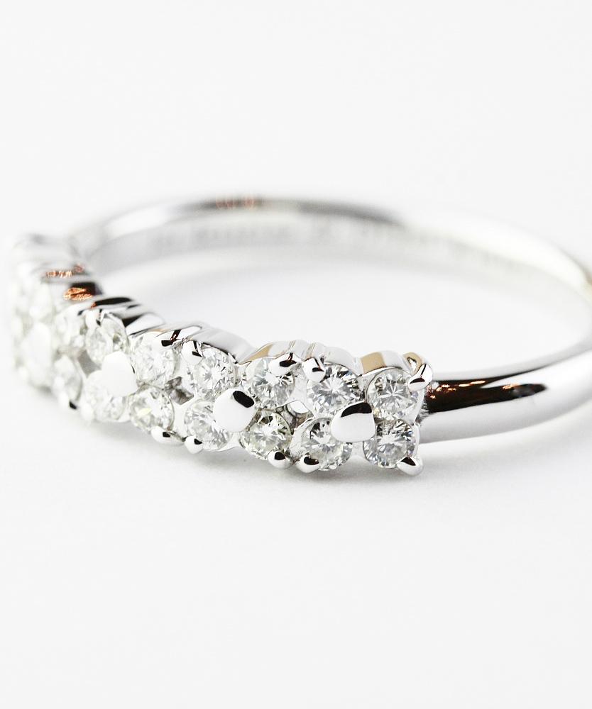 ピナコテーカ 701 フローラル ダイヤモンド リング 18金,pinacoteca Floral Diamond Ring K18